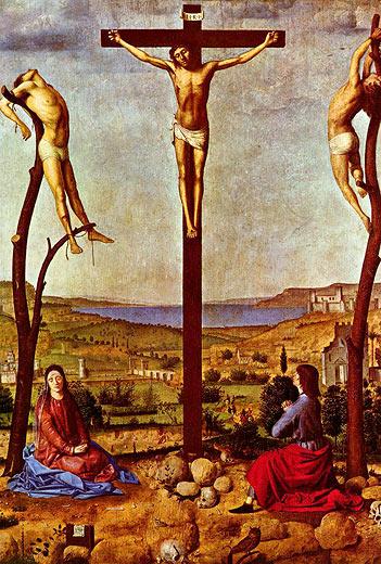 Bildergebnis für Gemälde, Kreuzigung Jesus