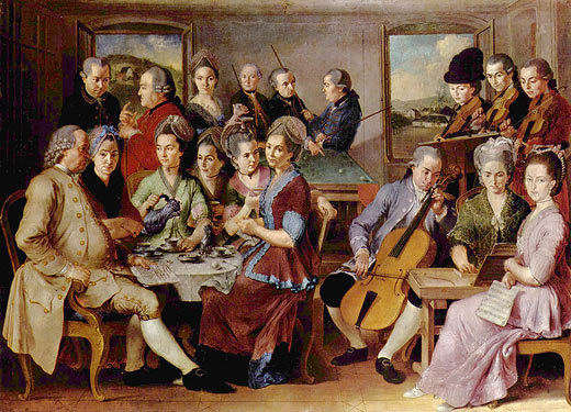 baroque orchestra painting - photo #8