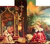 Isenheimer Altar, zweite Schauseite, Mittelbild: Menschwerdung Christi