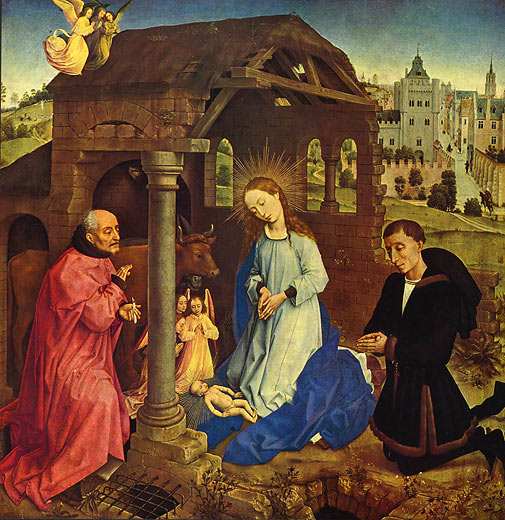 By 1436 Rogier had moved to Brussels and been appointed official painter to
