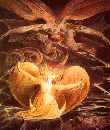 Spiritual Apocalypse Monstrosity: MEISTERWERKE-ONLINE.DE +++ Der Große Rote Drache Und Die